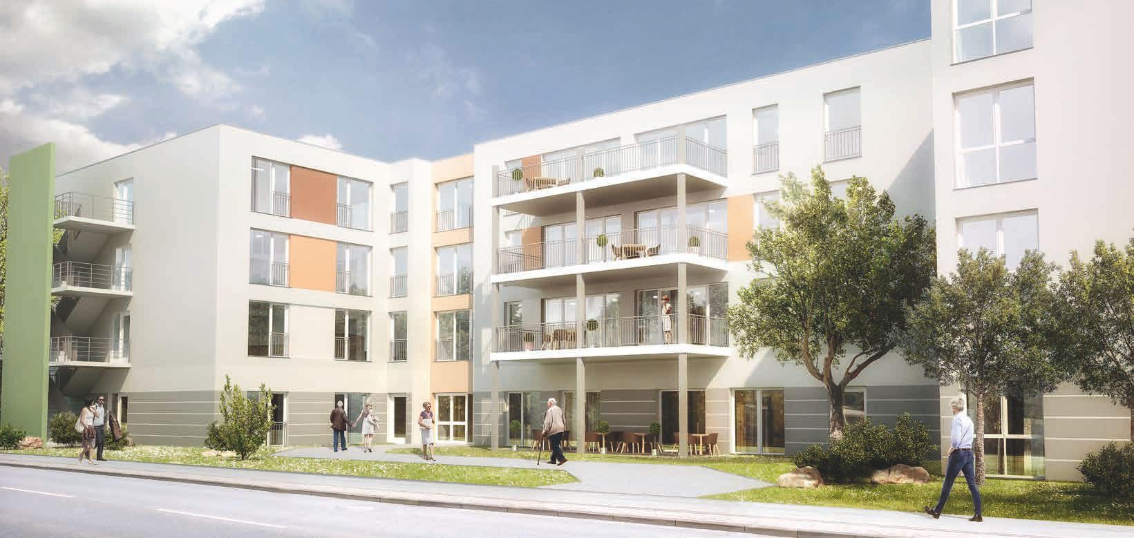 Pflegeimmobilie Seniorenpark Sandkrug Hatten-Oldenburg