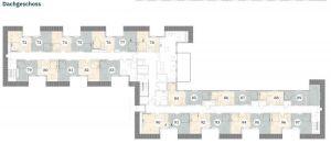 Pflegeimmobilie Hatten - Grundriss Dachgeschoss