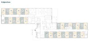 Pflegeimmobilie Hatten - Grundriss Erdgeschoss