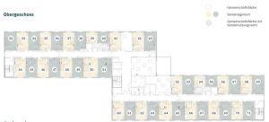 Pflegeimmobilie Hatten Grundriss Obergeschoss