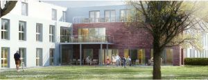Pflegeimmobilie Hatten - Innenhof